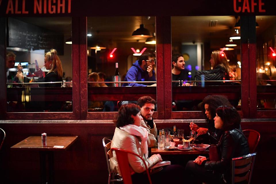 <p>Dim T has a site in Fitzrovia, where Eat Out to Help Out saw increased business in the summer</p>PA