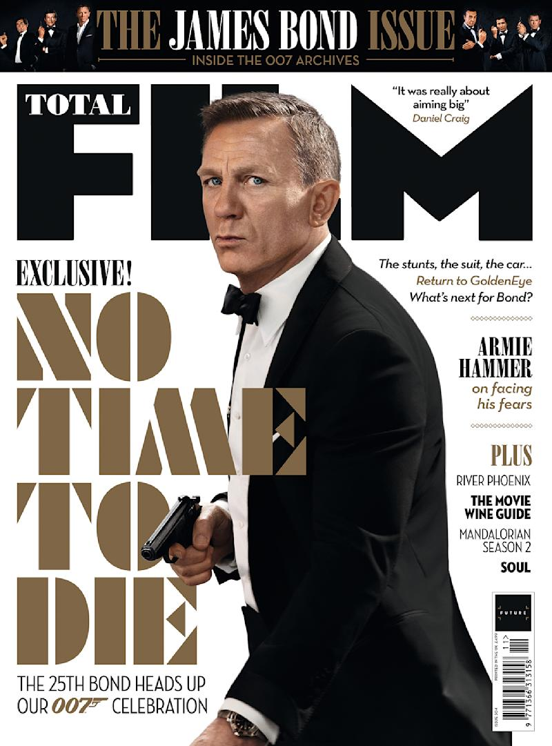 Total Film's James Bond cover.