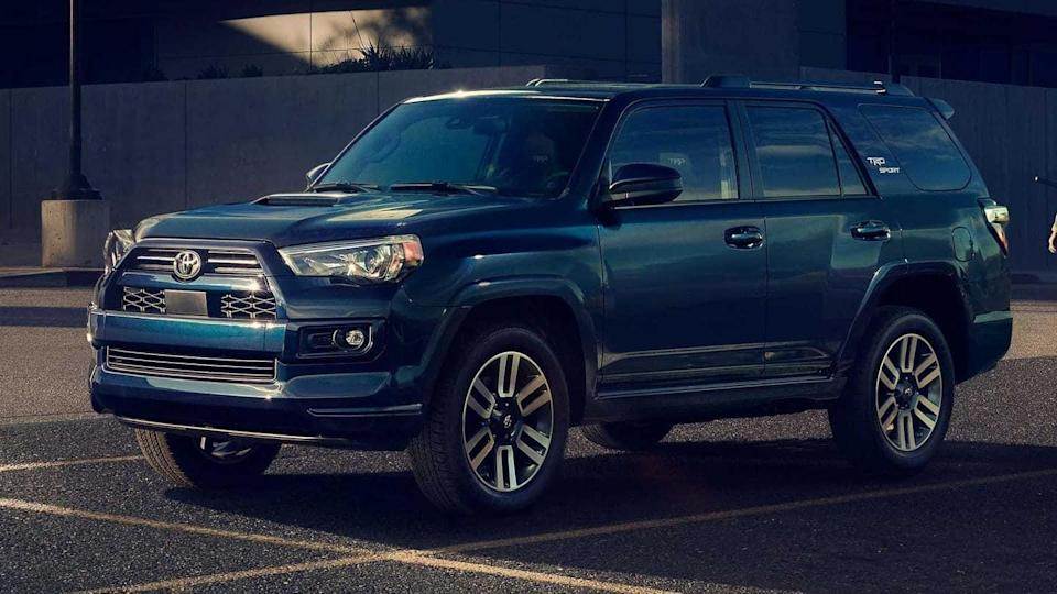 Toyota reveals off-road-biased TRD Sport variant of its 4Runner SUV