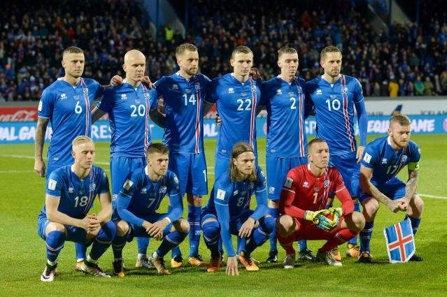 Iceland was the first nation to announce its 2018 World Cup squad. (Getty)