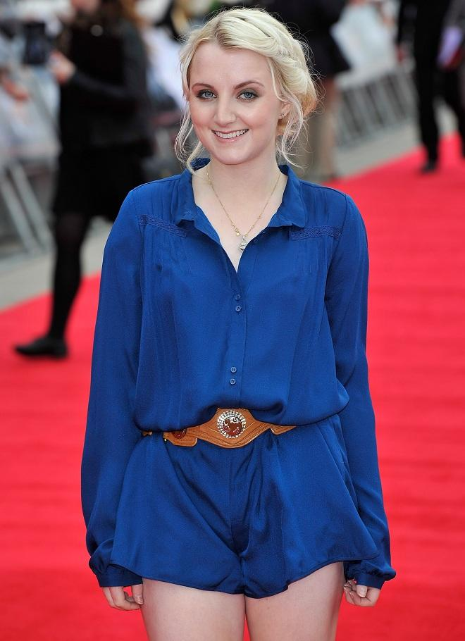 "Evanna Lynch (""Harry Potter and the Deathly Hollows: Part 2"") turns 21 on August 16"