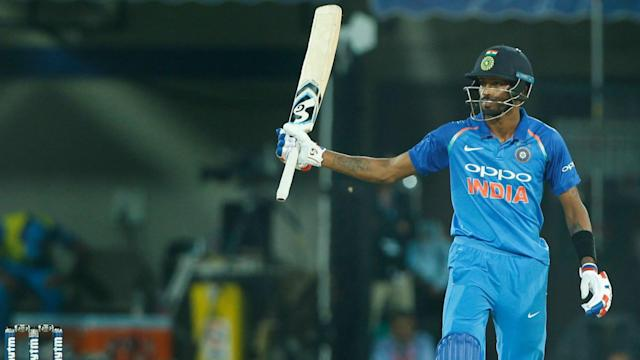 Hardik Pandya led India's chase of 294 as the hosts sealed a series victory over Australia and returned to top spot on the ODI rankings.