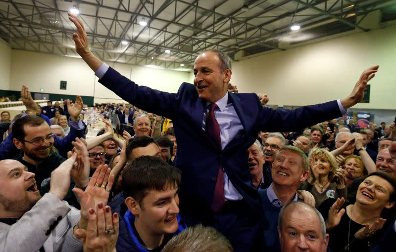 Exclusive: Ireland's Fianna Fail to seek to form government without Sinn Fein