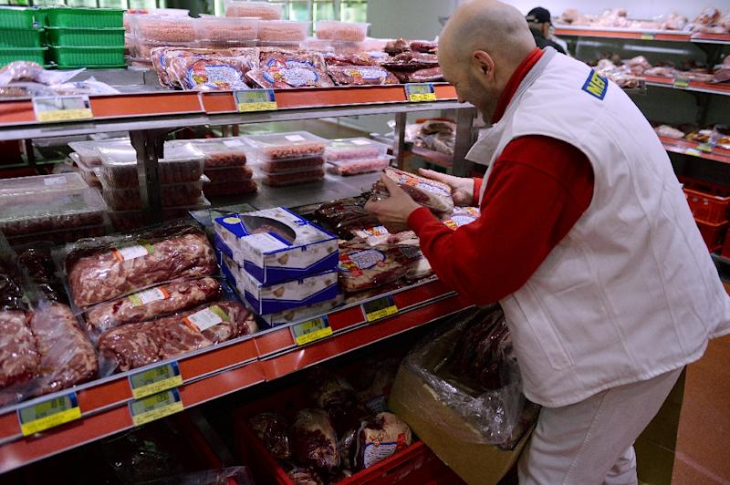 The German consumer price index rose by 1.5 percent in May compared with the same month last year, slower than the 2.0 percent recorded in April, the federal statistics office Destatis calculated in preliminary data (AFP Photo/Patrik Stollarz)