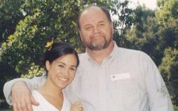 Meghan and Thomas Markle - Pix supplied as a technical service by Tim Stewart News Limited 07932745508. No copyright inferred o