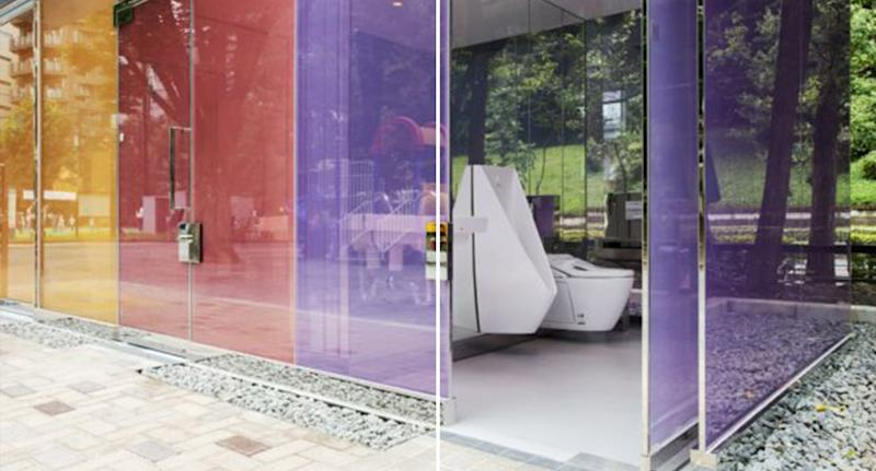 Japan has unveiled new public toilets which strive to dispel the negative connotations associated with public bathrooms. Source: The Tokyo Toilet