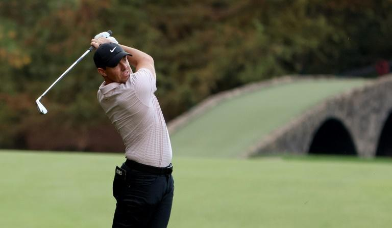 Four-time major winner Rory McIlroy settled for a share of fifth at the Masters, missing another chance to complete a career Grand Slam