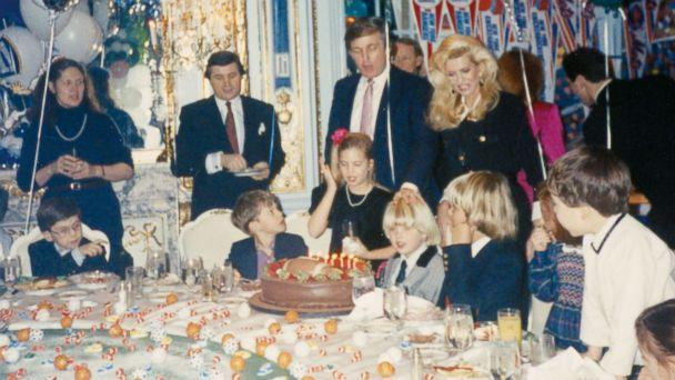 PHOTO: Ivana Trump shares a family photo from Eric Trump's sixth birthday party at the Plaza Hotel in New York City in 1990. (Ivana Trump )