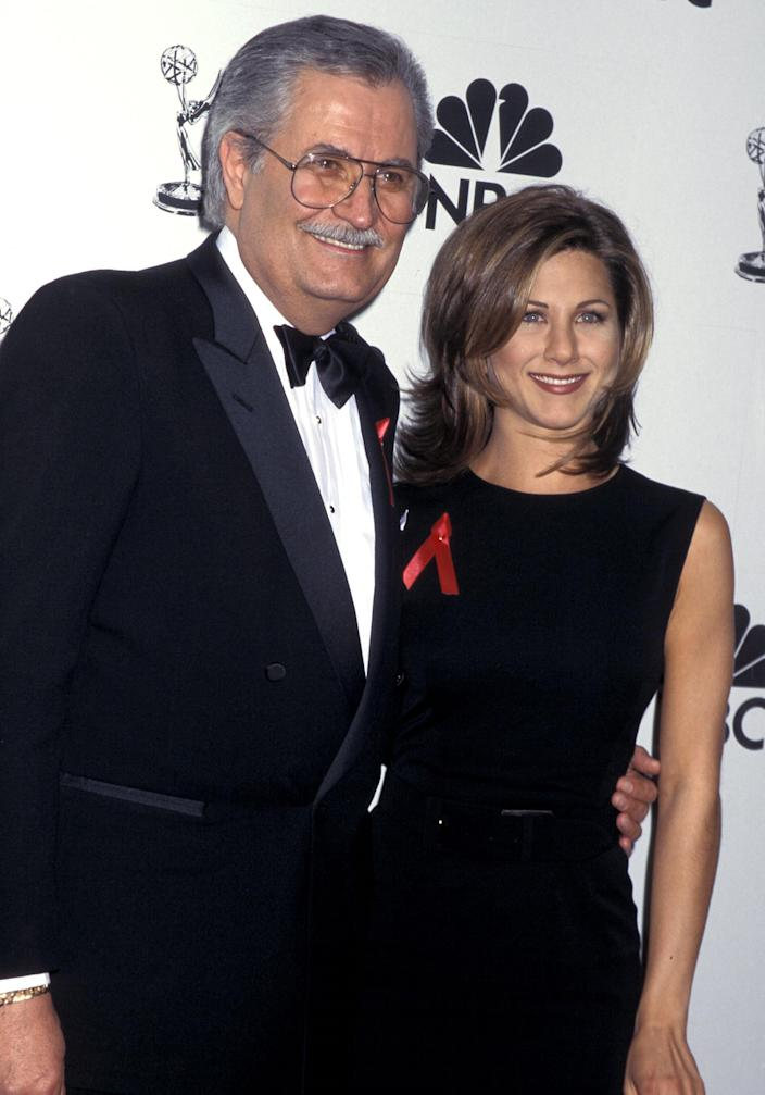 John Aniston and Jennifer Aniston (Ron Galella Collection via Getty Images)