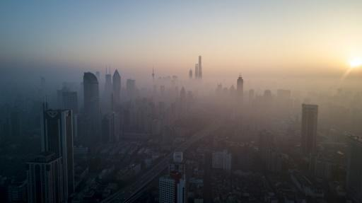 China cut its national average level of airborne PM2.5 particles by 27 percent between 2015 and 2019