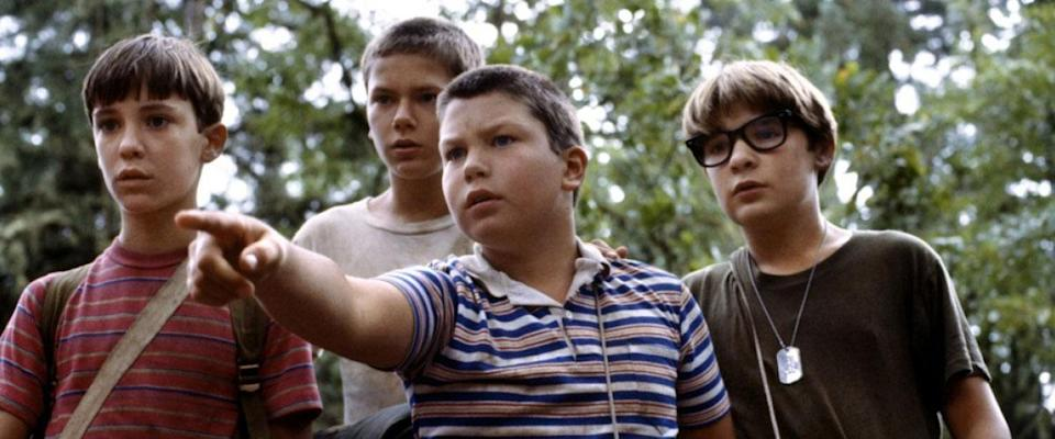 'Stand By Me' helped make a star of River Phoenix - pictured 2nd left. (Credit: Act III Productions)
