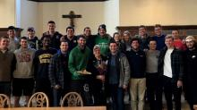 These Notre Dame students gave their beloved dining hall worker a sweet surprise on her 70th birthday