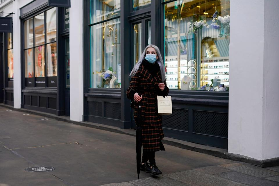 <p>Masks are expected to remain on public transport for the time being</p> (AP)