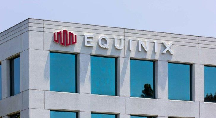 corporate building with Equinix (EQIX) logo on it
