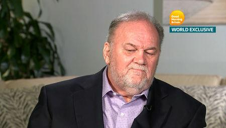 Thomas Markle, Meghan Markle's father, is seen in a still taken from video as he gives an interview to ITV's Good Morning Britain program which is broadcast from London, Britain, June 18, 2018. Good Morning Britain/ITV handout via REUTERS