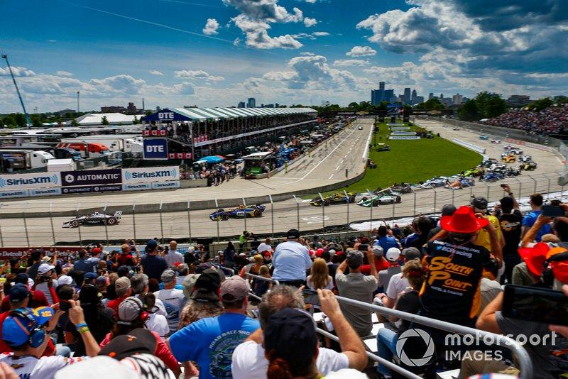 "Penske is committed to keeping IndyCar racing in his 'backyard', Detroit. <span class=""copyright"">Jake Galstad / Motorsport Images</span>"
