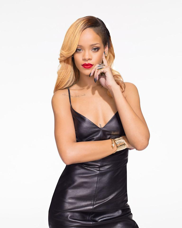 "Rihanna in ""Styled to Rock"" Season 1."
