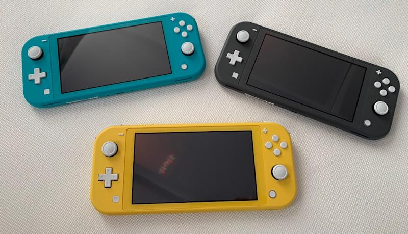 The Nintendo Switch Lite is a $199 version of the Switch that's designed to be more portable. (Image: Dan Howley)