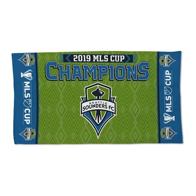 Sounders FC 2019 MLS Cup Champions Celebration Towel