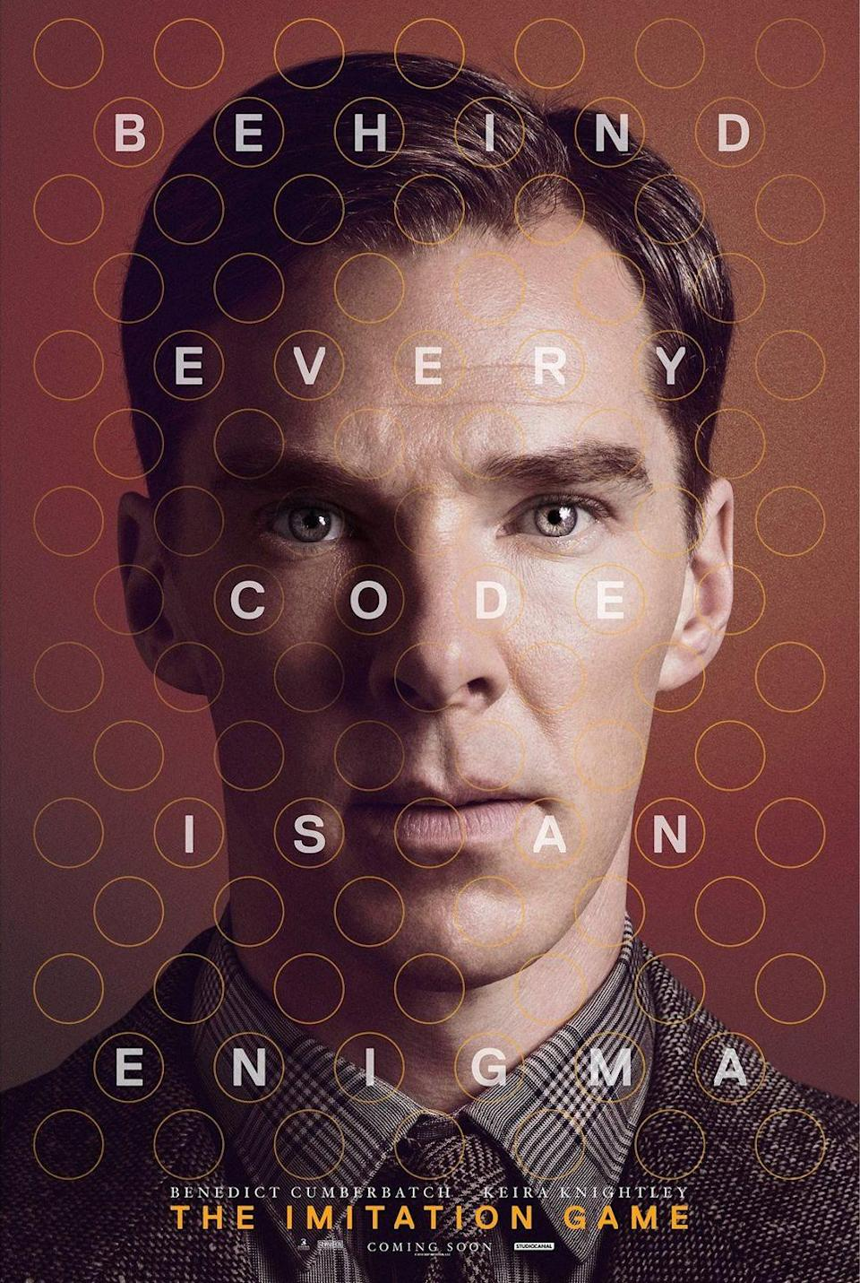 """<p><a class=""""link rapid-noclick-resp"""" href=""""https://www.amazon.com/The-Imitation-Game-Benedict-Cumberbatch/dp/B00R7FZ074?tag=syn-yahoo-20&ascsubtag=%5Bartid%7C10067.g.15907978%5Bsrc%7Cyahoo-us"""" rel=""""nofollow noopener"""" target=""""_blank"""" data-ylk=""""slk:Watch Now"""">Watch Now</a></p><p><em>The Imitation Game</em> charts how Alan Turing's game-changing innovations helped the Allies win the war—then, tragically, shows his country would persecute him anyway.</p>"""