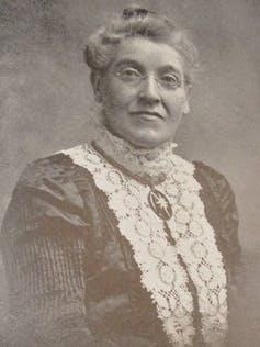 "<span class=""caption"">Agnes Hunter.</span> <span class=""attribution""><span class=""source"">The Vaccination Inquiry and Public Health Journal (1915)</span></span>"
