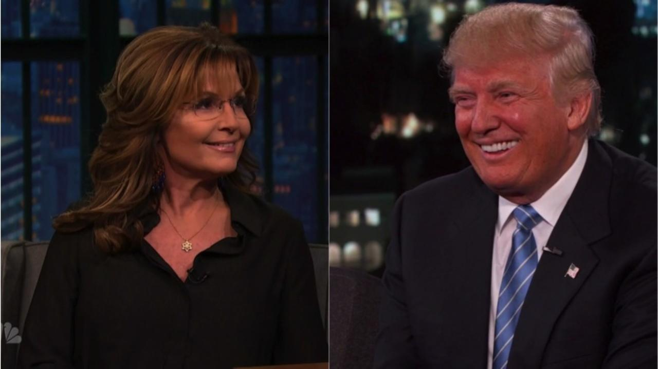 Palin has been campaigning for Trump so vigorously, it's hard not to think she was trying fora second VP nomination.