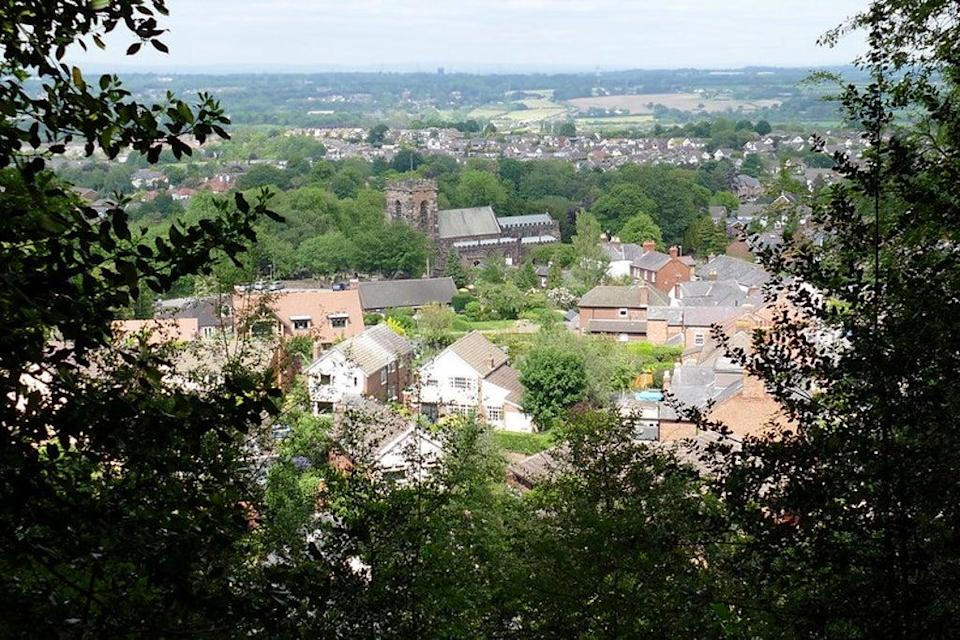 The view from Frodsham Hill (Flickr/Donald Judge)
