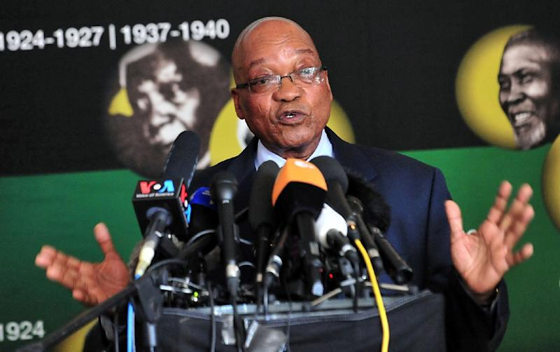 Former South African president Jacob Zuma was forced to resign by the ruling ANC party last year