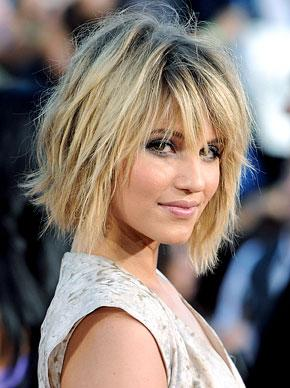 "The Summer's Hottest Haircut: Dianna Agron's ""Shab"""