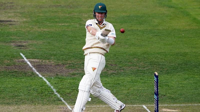 Jordan Silk smashed an unbeaten second-innings 67 as the Tigers beat NSW by nine wickets