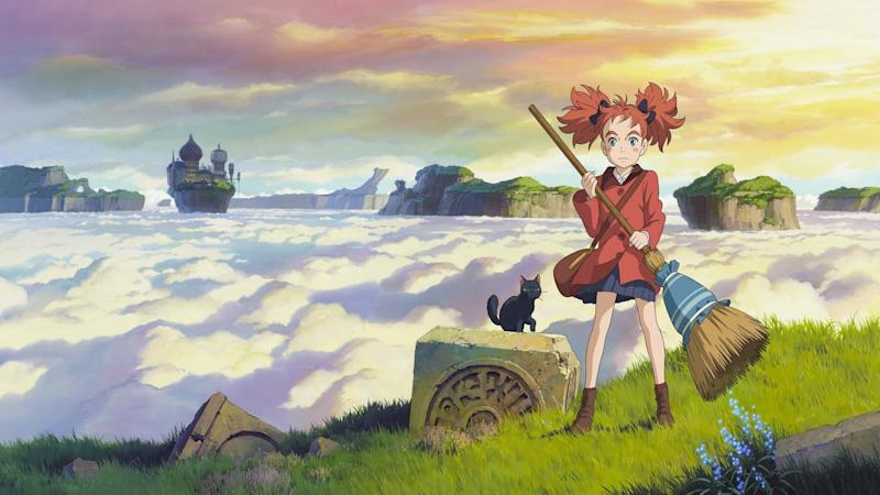 Mary and the Witch's Flower on Netflix
