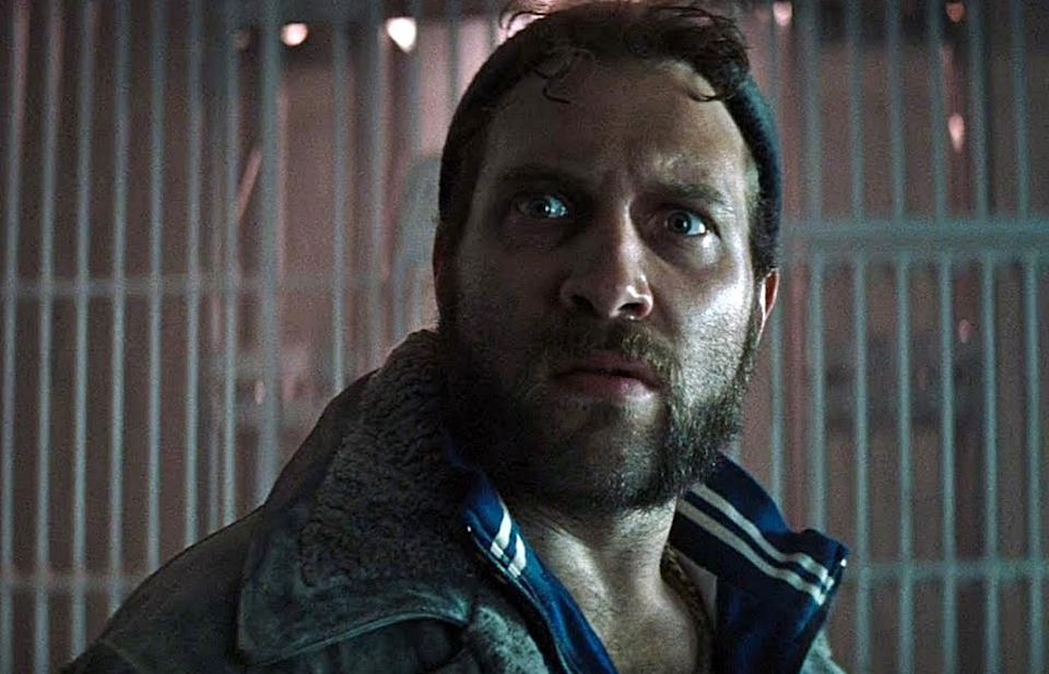 Jai Courtney as Captain Boomerang in Suicide Squad.