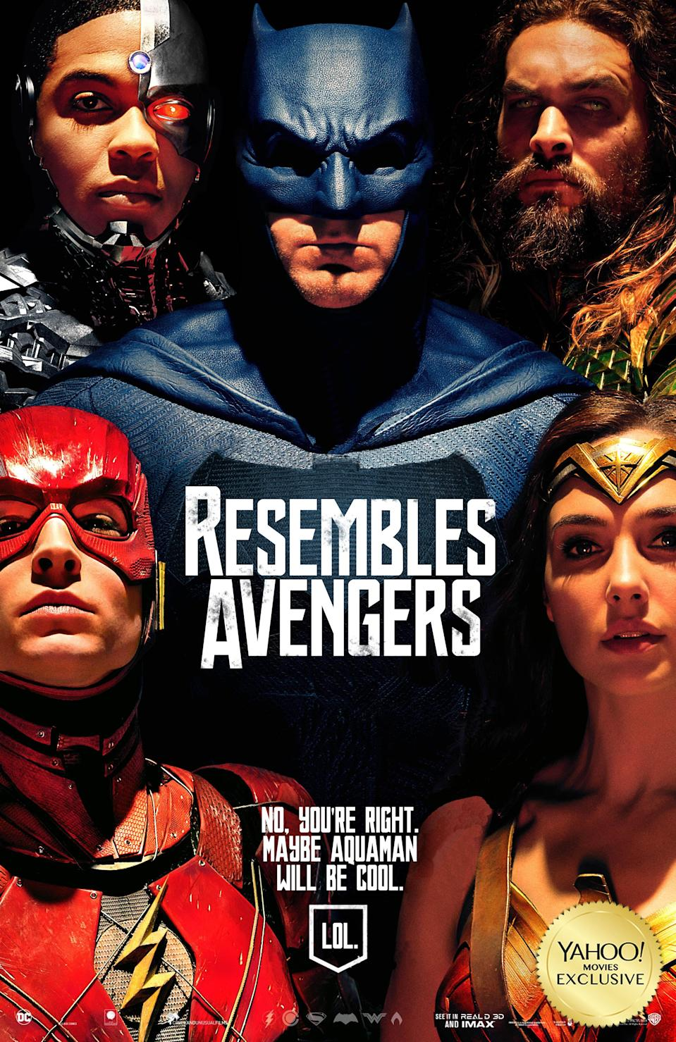 <p>Earth's other mightiest heroes. (Warner Bros./Yahoo Movies UK/theshiznit.co.uk) </p>