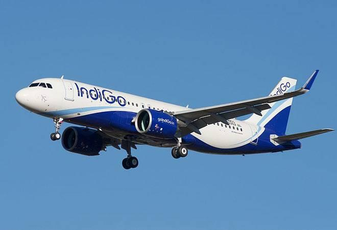 Passengers aboard the Bengaluru-bound IndiGo flight called the on-board  flight crew after noticing a burning smell coming out of a laptop bag  among the hand baggage.