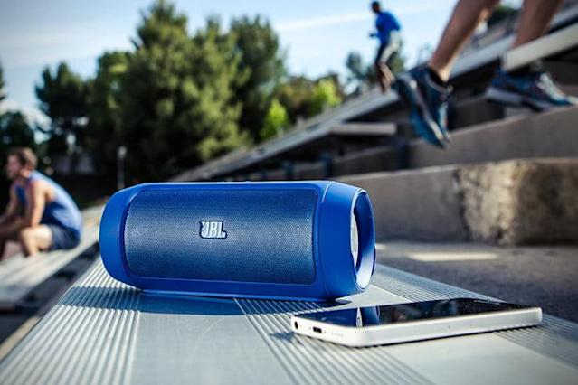 jbl charge wireless bluetooth speaker portable charger refurbished dtdeals