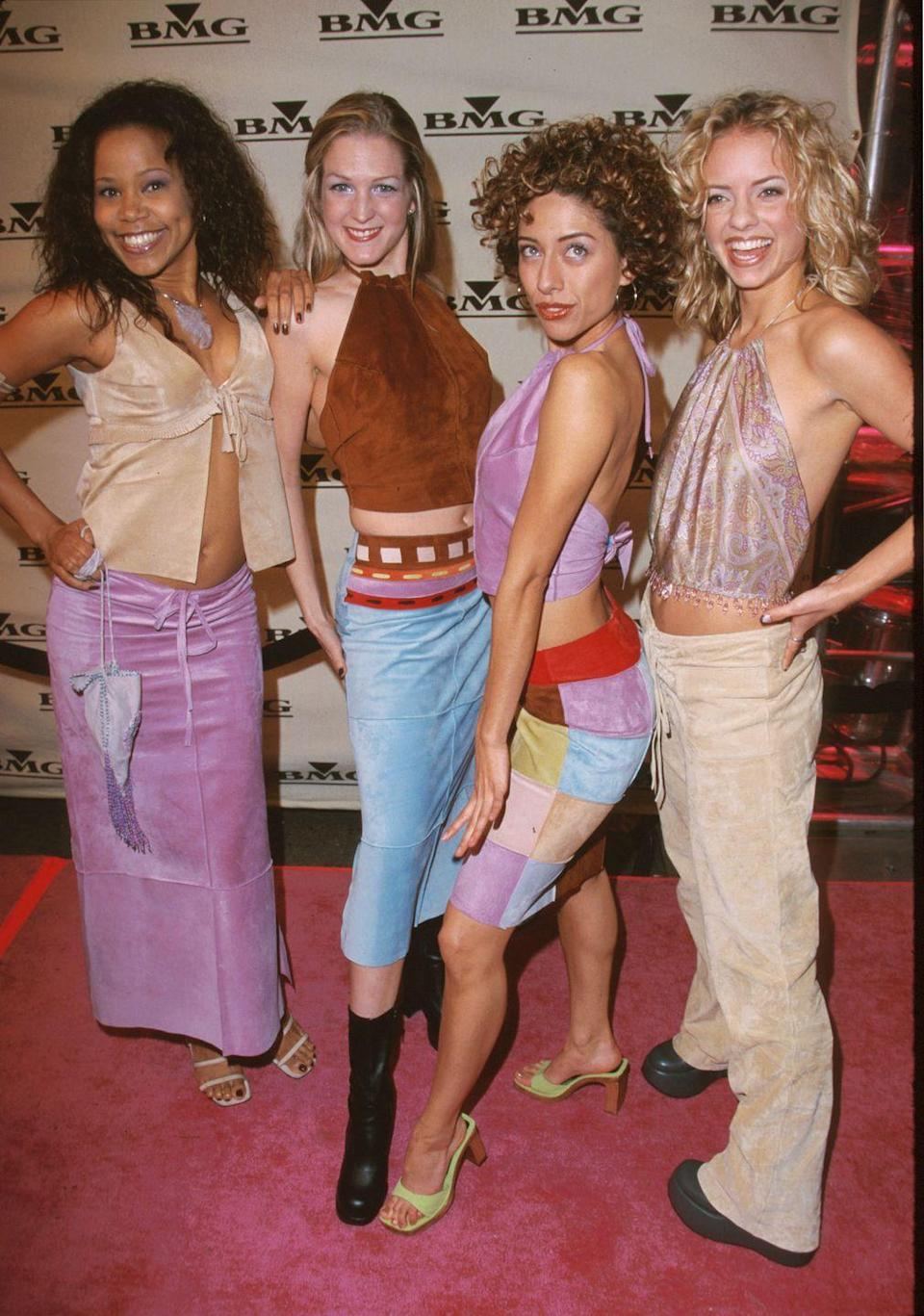 <p>My personal favorite is the colorblock miniskirt! </p>