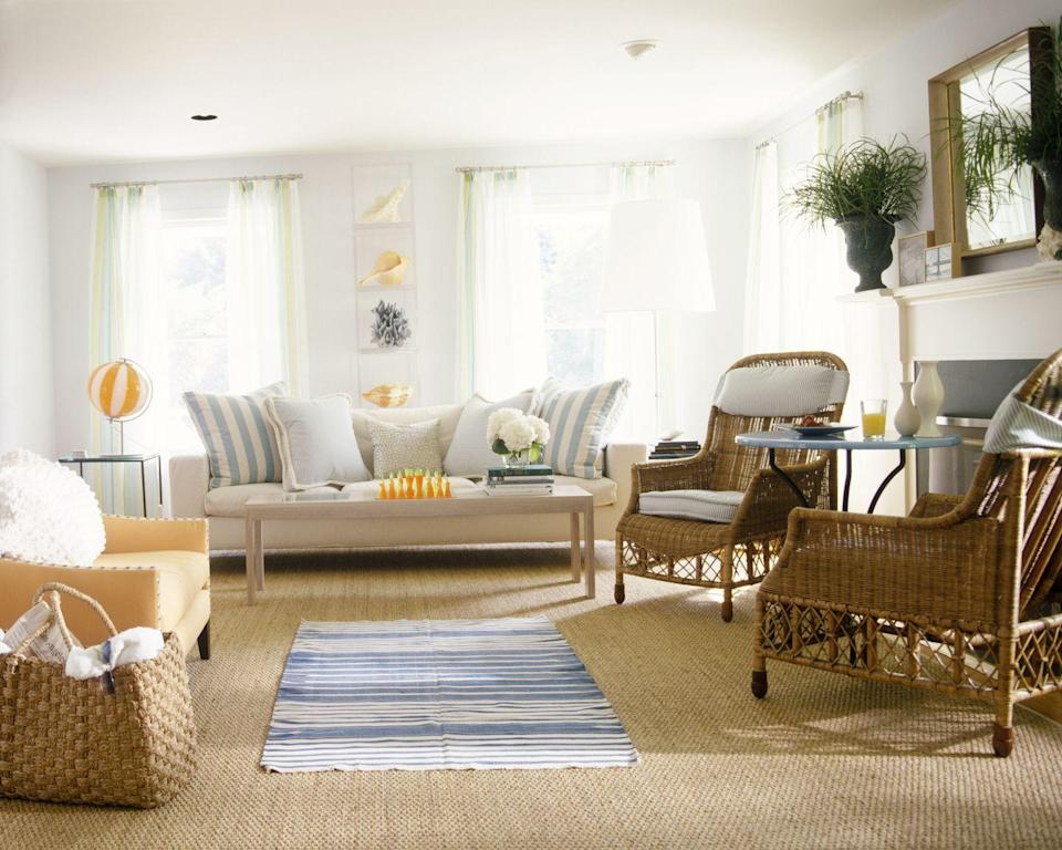 <p>Once consigned to patios and the like, rattan furniture become a hot addition to living rooms and other interior spaces in the 70s. It did go rather well with all the macramé and ferns that started turning up everywhere...</p>