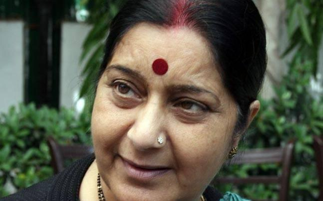 Happy to inform Iran has released 15 Tamil Nadu fishermen: Sushma Swaraj