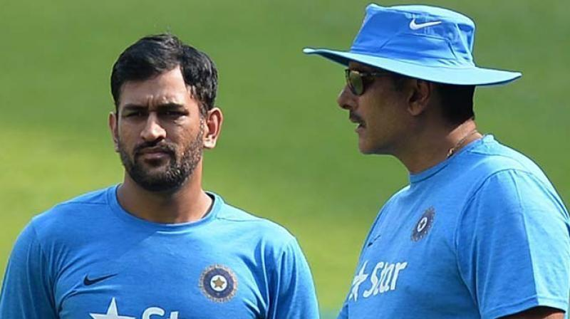 Ravi Shastri hinted that Dhoni might be well on his way to ending his illustrious ODI career