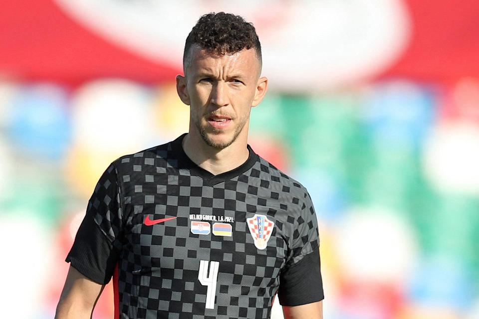 Ivan Perisic will play no part for Croatia against Spain on Monday (AFP via Getty Images)