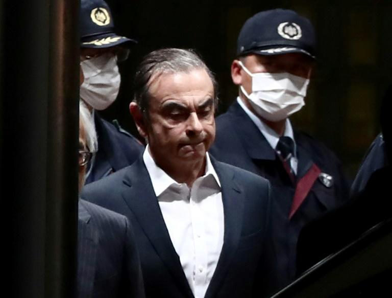 Former Nissan chairman Carlos Ghosn is said to be in fragile health since his release from detention at the end of April
