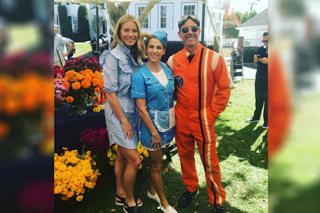 Gwyneth Paltrow, left, Jessica Seinfeld, and Jerry Seinfeld. (Photo: Instagram/gwynethpaltrow)