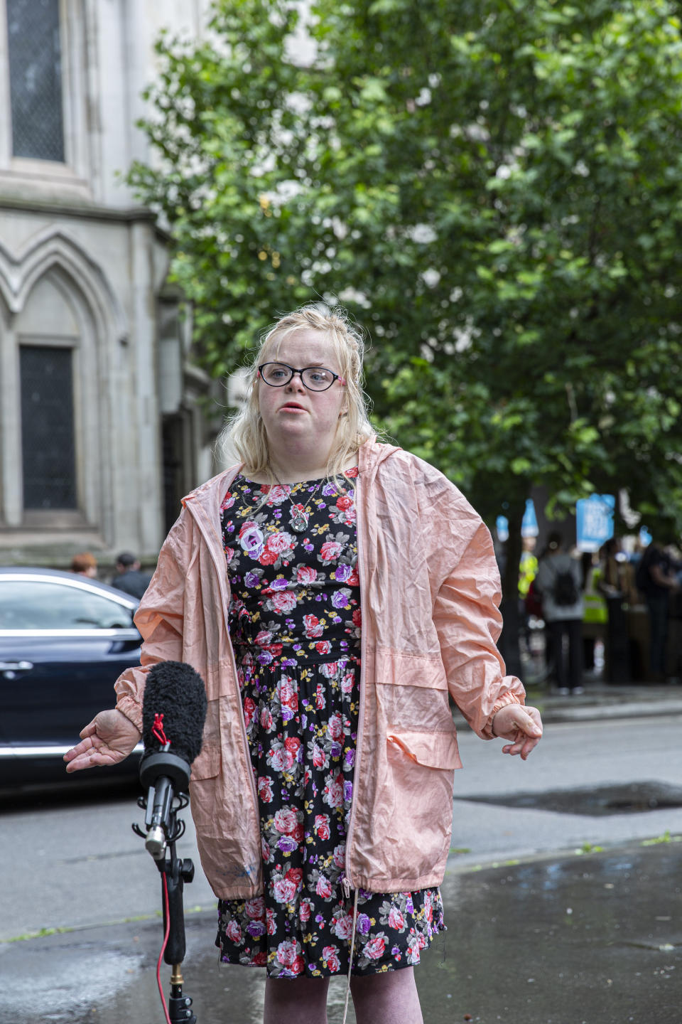 Heidi Crowter is fighting to abolish a current UK law that states unborn babies with Down's syndrome came be aborted right up until birth. (Supplied)
