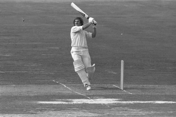 Aug 1979:  Ian Botham of England in action during the 2nd Test between England and India at Lords.                                  Mandatory Credit:  Adrian Murrell/Allsport UK