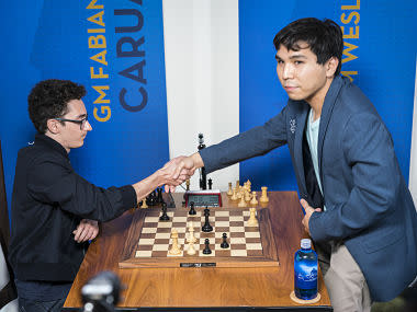 Sinquefield Cup: Fabiano Caruana books place in Grand Chess Tour finals after beating Wesley So in playoff