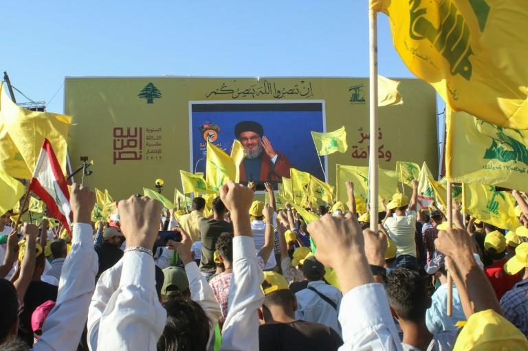 Iran-backed Hezbollah is considered a terrorist organisation by Israel and the United States (AFP Photo/Mahmoud ZAYYAT)