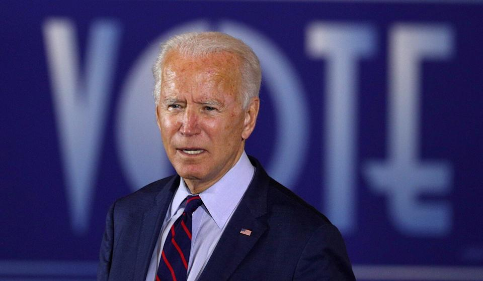 """Should US Democratic presidential candidate Joe Biden win election, one analyst said, China might """"test"""" US-Taiwan resolve. Photo: Reuters"""