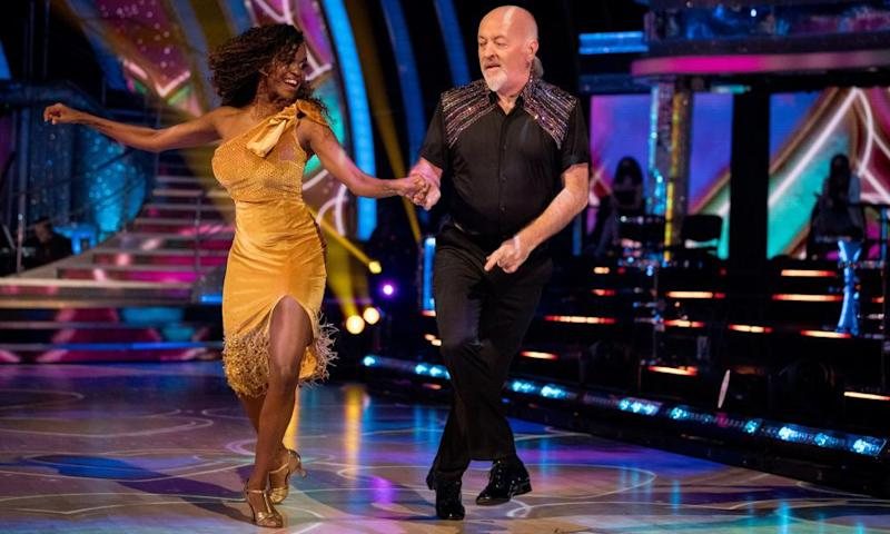 The comedian Bill Bailey has been paired with Oti Mabuse