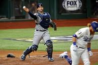 MLB: World Series-Tampa Bay Rays at Los Angeles Dodgers