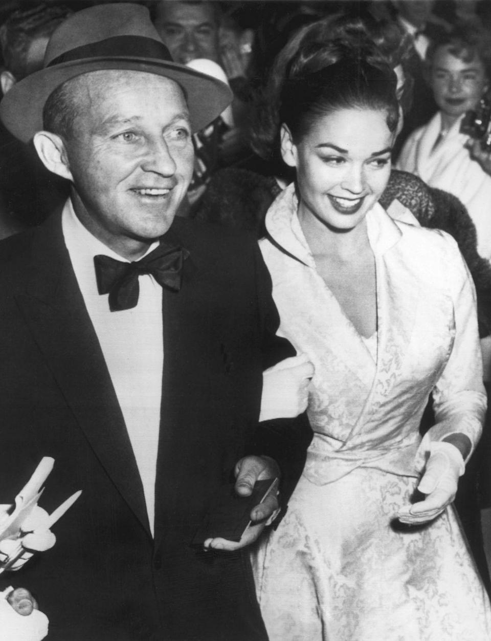 <p>Bing Crosby married his second wife, actress Kathryn Grant, in 1957. They were married for 20 years, despite a nearly 30-year age difference. </p>